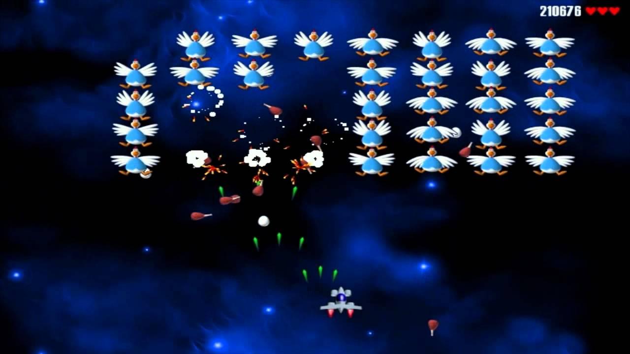 Tải game bắn gà, Chicken Invaders 1, 2, 3, 4, 5