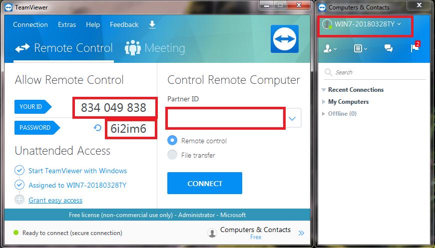 Tải, cài đặt teamviewer 13, phần mềm kết nối máy tính từ xa