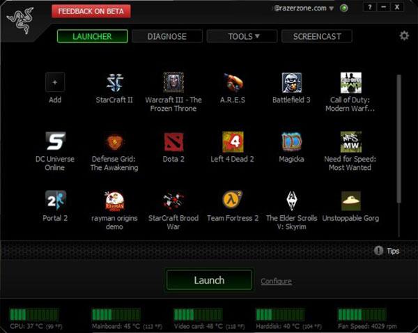 Tải Razer Game Booster 4.2.45.0 hỗ trợ chơi game, chống lag