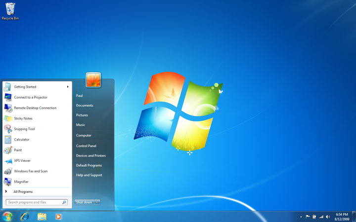 Windows 7- Tải Windows 7 full active