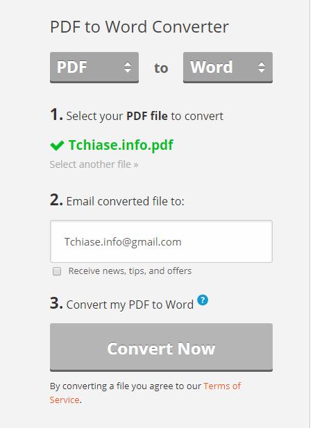 Thủ thuật chuyển pdf sang word, file pdf sang file word 100% không lỗi font