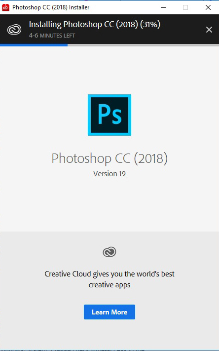 Tải photoshop cc 2018 full crack 64bit, 32bit