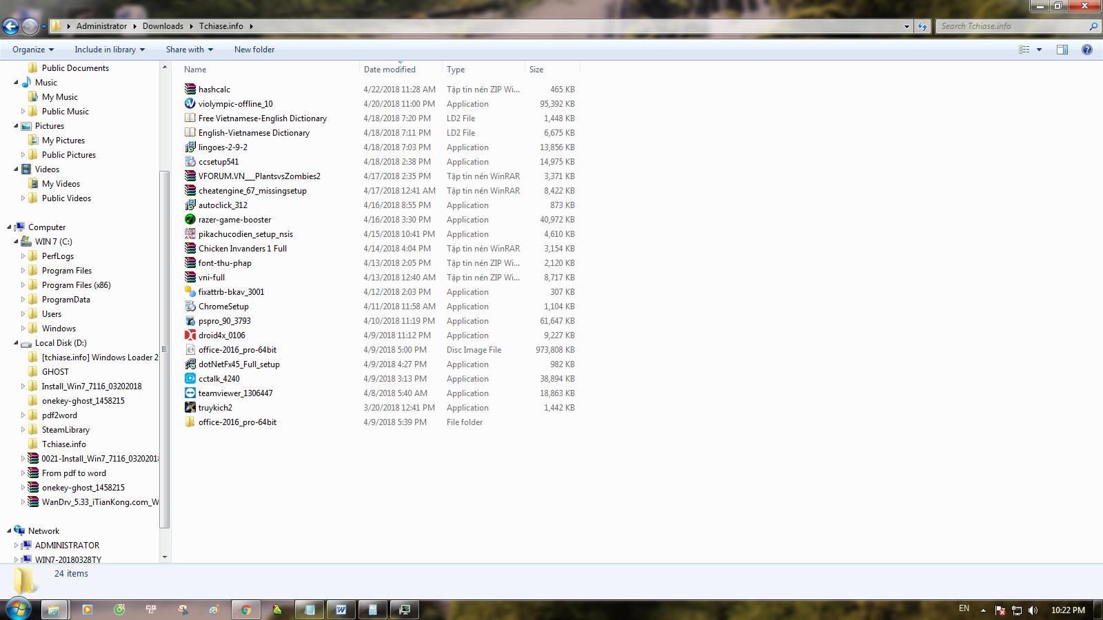 Windows 7- Tải Windows 7 full active