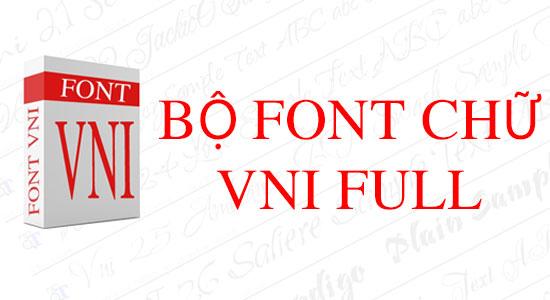Trọn bộ font VNI 300 font cho Zalo, Skype, Viber