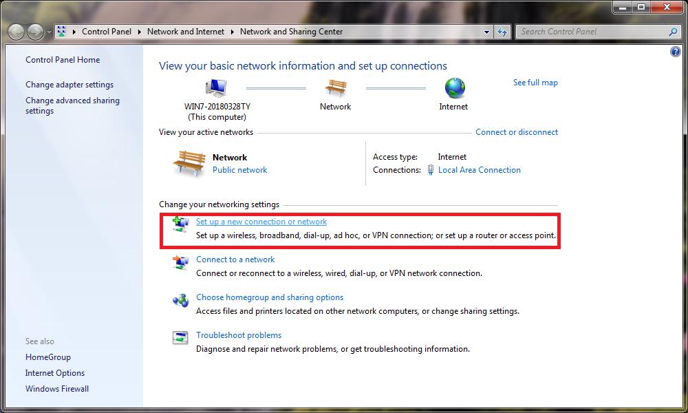 Cách phát wifi từ laptop windows 7 không cần phần mềm