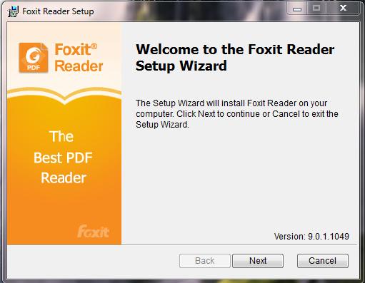 Tải, cài đặt Foxit Reader 9.01 - Phần mềm đọc file pdf, chuyển word sang pdf