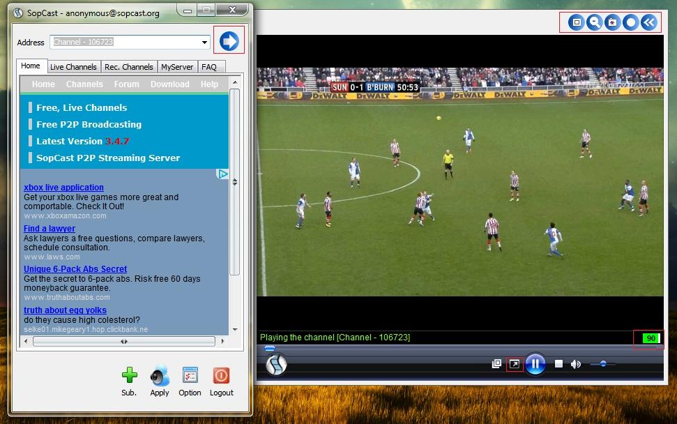 Tải Sopcast mới nhất - Link tải Sopcast 4.2 phần mềm xem bóng đá