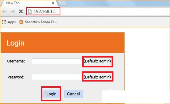 Đổi mật khẩu wifi modem Tenda - 192.168.1.1 Tenda