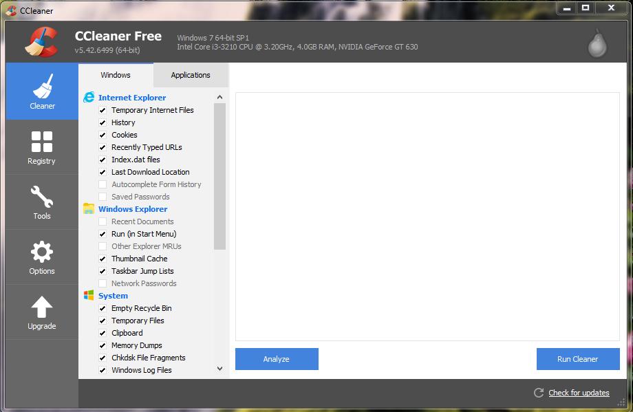 Hướng dẫn sử dụng CCleaner – Tắt chương trình khởi động cùng Windows, gỡ cài đặt