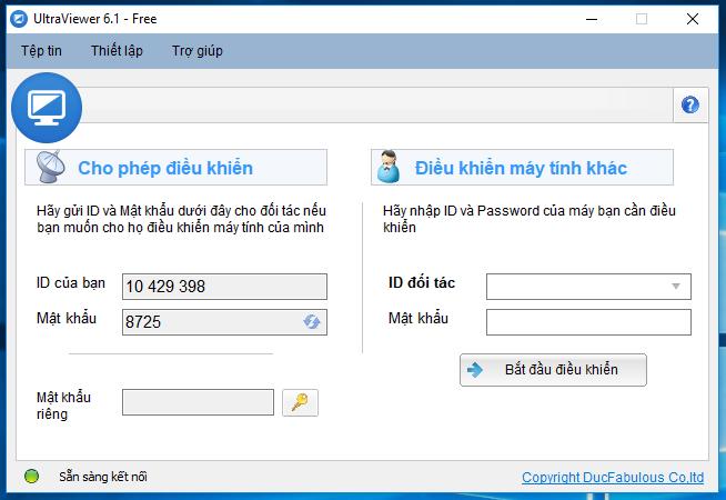 UltraViewer - Tải UltraViewer 6.1.2 điều khiển máy tính từ xa