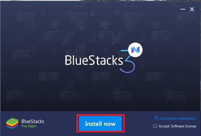 Tải phần mềm giả lập android Bluestacks 3