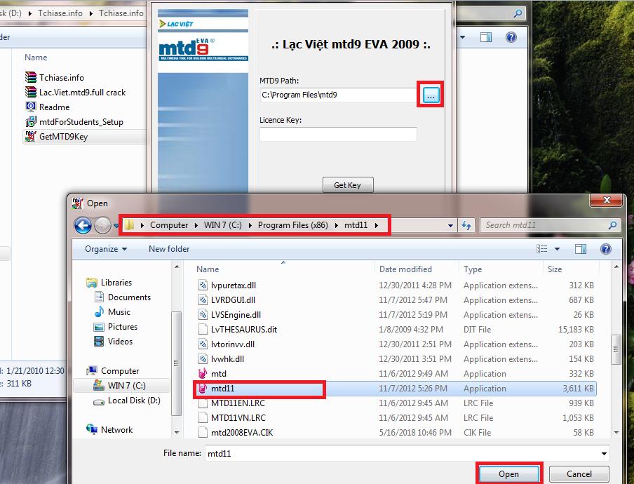 Từ điển Lạc Việt mtd9 EVA - Tải từ điển Lạc Việt mtd9 Eva full Crack