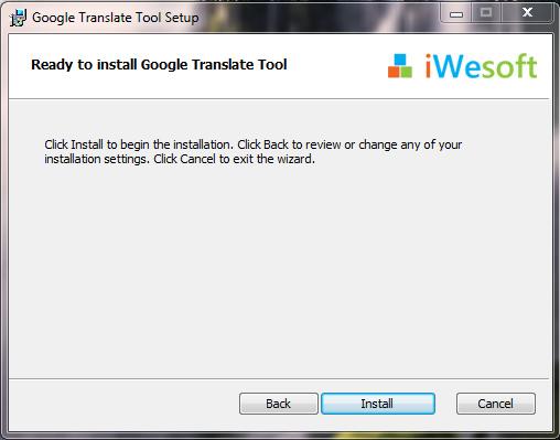 Google Translate Tool - Tải Google Translate Tool 2.7.0 công cụ tra từ điển cho máy tính