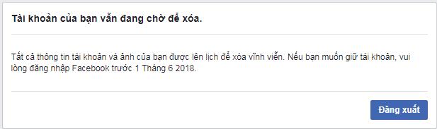 Hướng dẫn cách xóa tài khoản Facebook, xóa Facebook vĩnh viễn 2018