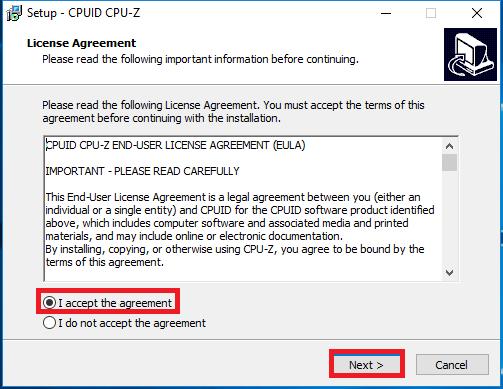 Tải CPU-Z - Phần mềm kiểm tra cấu hình máy tính