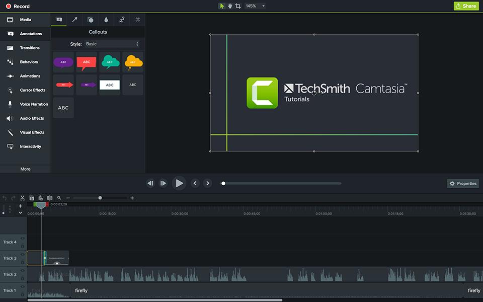 Tải Camtasia Studio 8, 9 full - Phần mềm chỉnh sửa video