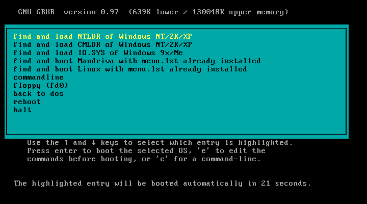 Tải Grub4dos - Phần mềm tạo usb boot Grub4dos Installer