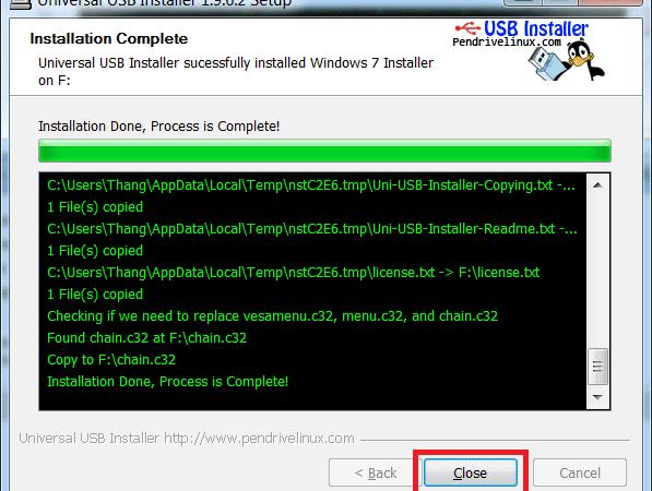 Tải Universal USB Installer - Phần mềm tạo usb boot Universal USB Installer