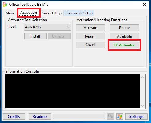 Tải Microsoft Toolkit 2.6.7 - Phần mềm Active Windows full, Office full Version
