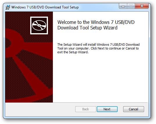 Tải Windows 7 USB/DVD Download Tool - Phần mềm tạo usb cài win 7, 8, 8.1, 10