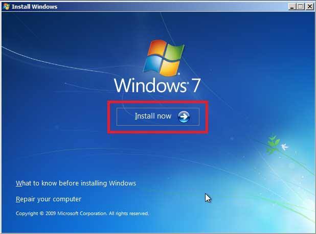 Thủ thuật Windows - Hướng dẫn cách cài win 7 bằng USB