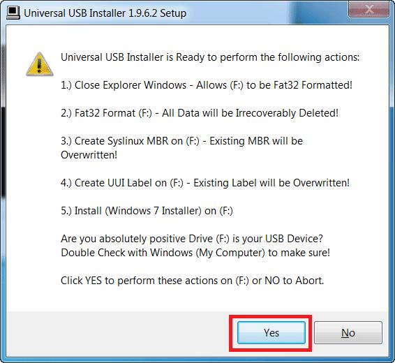 Hướng dẫn cách tạo USB cài win 10, 8, 7 bằng Universal USB Installer
