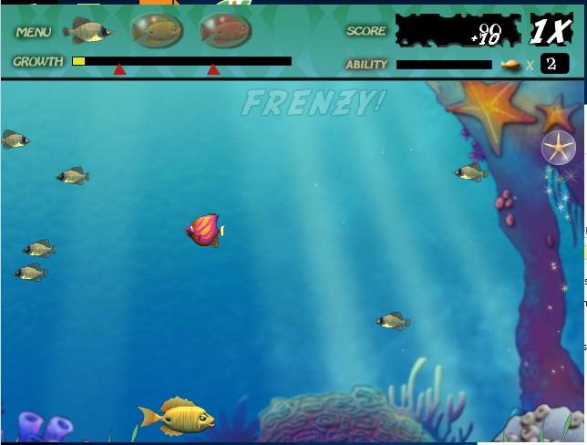 Link tải game Cá lớn nuốt cá bé - Feeding Frenzy 2, 1 cổ điển