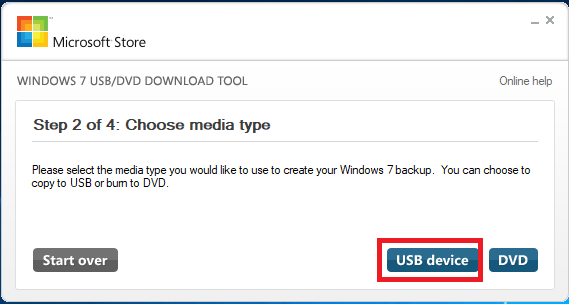 Hướng dẫn cách tạo USB cài win 7, 8, 10 bằng Windows 7 USB Download Tool