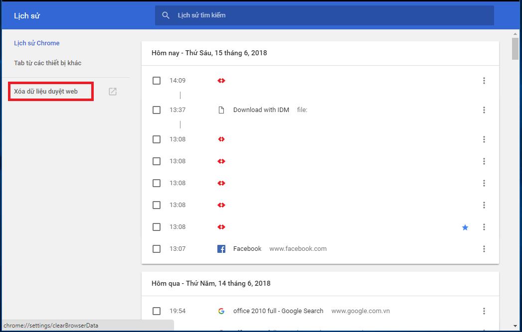 Hướng dẫn cách xóa lịch sử tìm kiếm google trên máy tính và điện thoại