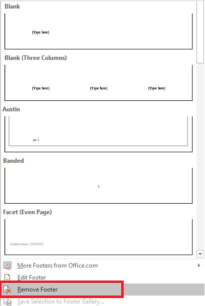 Kỹ năng Office - Hướng dẫn cách tạo header and footer trong word 2010, 2013, 2007, 2016