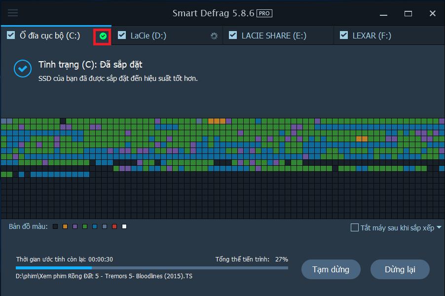 Tải Smart Defrag 5 - Phần mềm chống phân mảnh ổ cứng free tốt nhất