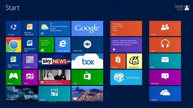 Windows 8 - Tải Windows 8 Pro, Home, Enterprise 64/32bit ISO full active