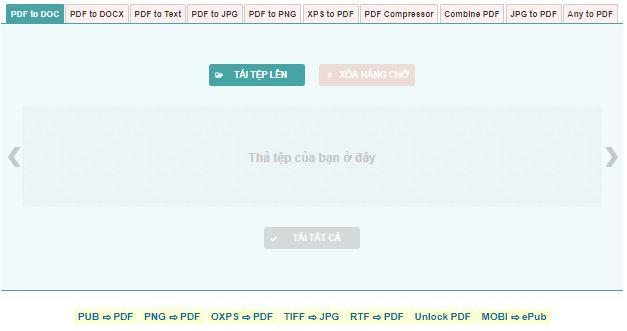 5 trang web chuyển pdf sang word miễn phí tốt nhất hiện nay