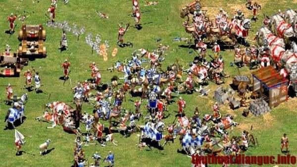 Tải game đế chế 1, 2, 3 - Game AOE, Age of Empires 1, 2, 3 chiến thuật kinh điển