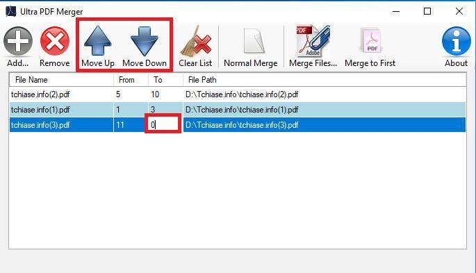 Tải phần mềm ghép file pdf, nối file pdf - Cách ghép file pdf với Ultra PDF Merger