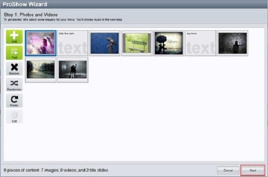 Hướng dẫn cách làm video từ ảnh với phần mềm làm video ProShow Gold