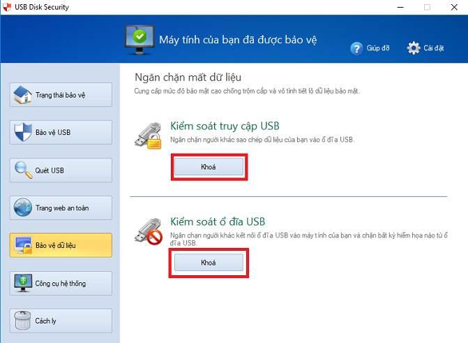 Hướng dẫn sử dụngphần mềm diệt virus USB Disk Security 6.6.0.0