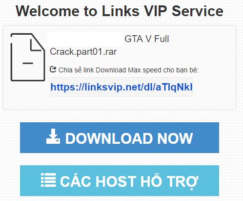 Hướng dẫn cách get link Fshare, 4share, tenlua link Vip tốc độ cao