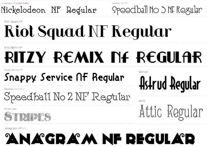 Bộ font chữ đẹp tiếng Việt cho Photoshop, Proshow, Corel - Hướng dẫn cài font vào phần mềm