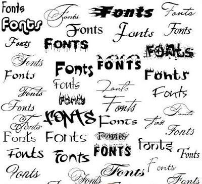 Font chữ đẹp, 300 Font VNI đẹp, Font thư pháp đẹp cho Zalo, Skype, Proshow, Photoshop