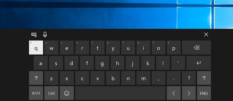 Hướng dẫn cách mở bàn phím ảo trên máy tính win 10