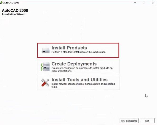 Tải AutoCAD 2008 full crack 32bit, 64bit - Hướng dẫn cài đặt AutoCAD