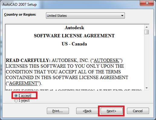 Tải AutoCAD 2007 full crack - Hướng dẫn cài đặt AutoCAD