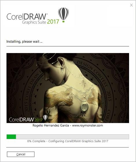 Tải CorelDraw X9 - 2017 Full crack 64bit + hướng dẫn cài đặt CorelDraw