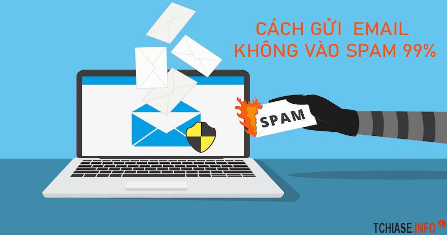 Hướng dẫn cách gửi email để không vào spam